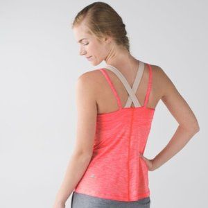 Lululemon Run for Gold Tank in Electric Coral 6